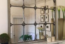 Window Mirror collection by Aldgate Home / show casing our unique collection of original refurbished window mirrors ..