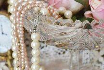 Tafeldekor met perels