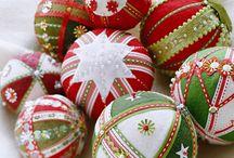 Christmas ornaments - to make