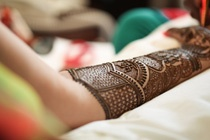 Camera angles for Mehendi pictures