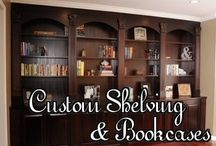 Custom Crafted Shelving & Bookcases