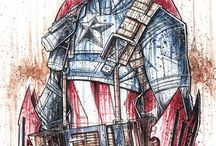 Geek- Captain America / by Sarah Bowling