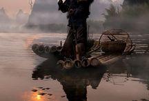 pescadores fisherman