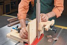 adjustable tenoning jig