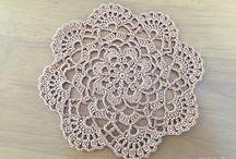 Салфетки / Crochet doily