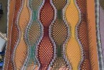 Klöppeln Schal
