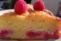 gâteau au framboise