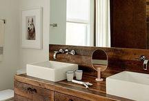 Rustic/Vintage bathrooms