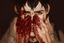 """Bertholdt Fubar(Snk) / """"Who the hell would want to kill people by their own choice?! Neither of us have any right to even apologize.. But someone has to do this. Someone has to stain their hands with blood."""""""