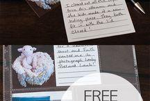Photo Journaling / Photo Journaling Ideas  / by Stephanie Skinner