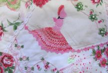 Fabricaholic-Recycled (Hankies) / by Gail