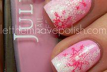 Winter nail art / Winter nails nail art