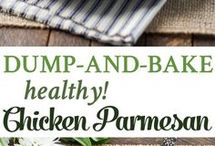 Dump and Bake Chicken Parmesan