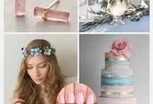 Wedding colours 2016 / Colour inspiration