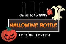Hallowine Bottle Costume Contest / For the spooky season of Halloween, Touring & Tasting is hosting the 2014 Hallowine Bottle Costume Contest.