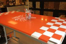 Quartz Creations / KSI offers Silestone, Hanstone, Caesarstone, and Daltile One Quartz in a huge variety of colors.