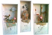 wall art boxes