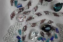 Вышивка бисером и камнями