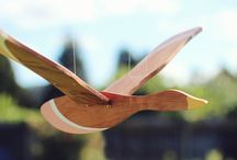 de fusta flying birds