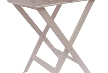 Shabby Chic Decor / Romantic appliques and antique finishes make any cottage more chic. Make your home romantic and eclectic with our custom made accessories in shabby white, pink or cream.