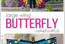 Pillangó jelmez