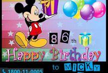 #Happy_Birthday_Mickey_Mouse