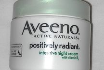 Influenster AVEENO®POSITIVELY RADIANT VoxBox / My new Night Time routine.