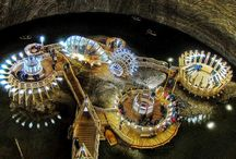 Abandoned Mine Was Transformed Into an Underground Theme Park / http://www.ryot.org/abandoned-mine-transformed-underground-amusement-park/716457 / by Laura Perenic