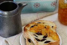 breads, buns, scones