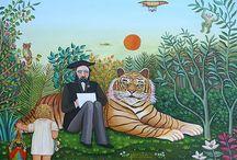 1as_Vanguardias_Pintura Naif_Henri Rosseau