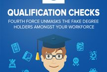 Educational Qualification Checks Services in India / Fourth Force performs educational qualification checks inorder to verify the documents given by the employee is fake?