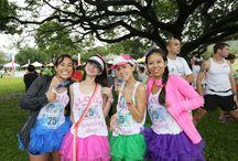 2014 Honolulu Rainbow EKIDEN / 2nd annual relay race in 2014!