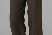LINHO / Roupas de linho/algodão