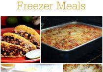 Freezer meals / by Jessica Williams