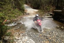 Dual Sport Motorcycle Riding / Dual sport motorcycle riding