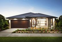 The Fairview (NEW) / This design is all about fit, four bedrooms, separate theatre room, family sized laundry, all of this without compromising on its extensive open plan living zone. Long and lean whilst enabling sumptuous everyday living.  See more @ http://rawsonhomes.net.au/homes/fairview