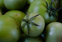 Yeşil domates yemeyi