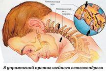Упражнение для шейного позвонка и остеохондроз