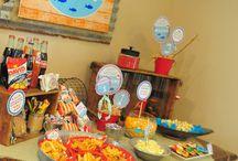 Fishing Birthday Party Ideas / by Joy Cartledge