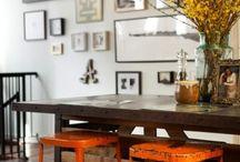 decor / come disporre quadri, piatti,ceramiche