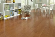 """Hawthorn Collection / Ideal for traditional or modern home design, the Hawthorn Collection features six beautiful colors in 5"""" wide planks. Made in the USA, the collection offers both Hickory and Maple engineered hardwood options. Hawthorn's durable urethane with aluminum oxide finish provides lasting beauty to your floors.  Made in the U.S.A."""