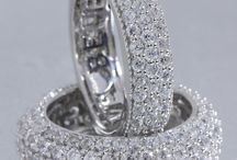 Diamond Bands / Bands are the symbol of eternity, with no beginning or end to it.