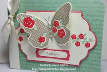 Stampin' Up! Floral Wings, Hostess 2015