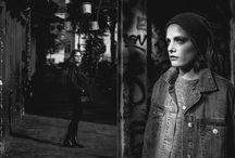 Posed Street / Streetfotografie mit Model