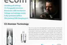 Electronic Cigarettes / Our range of electronic cigarettes