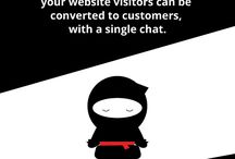 Customer Service Tips / Chat Ninjas are experts in online customer service. We have learned a few things since we began, and we would like to share our knowledge with you.