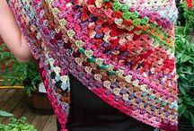 gehaakte sjaals