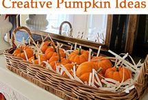 Fall Halloween Thanksgiving / September October November