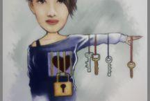 Ana's Colouring Art
