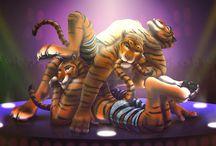 Movie _ Zootopia (Tiger dancers)